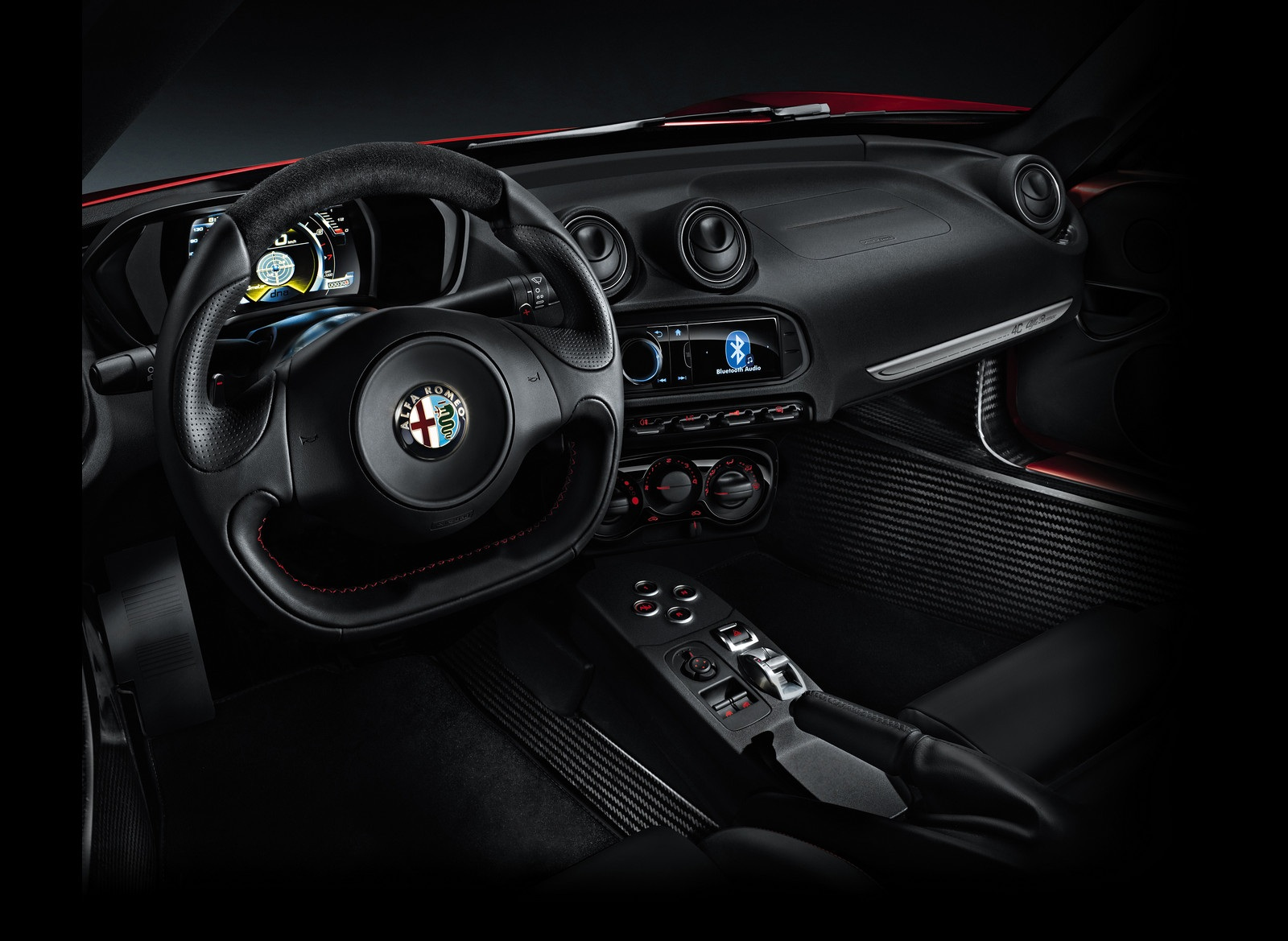 2014 Alfa Romeo 4C Interior and Dashboard