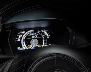 2014 Alfa Romeo 4C Speedometer and Panel