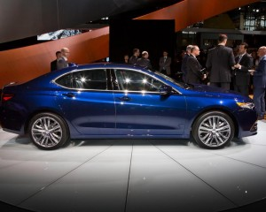 2015 Acura TLX Blue