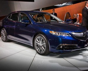 2015 Acura TLX Deluxe Blue