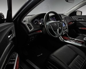 2015 Acura TLX Driver Seat and Interior