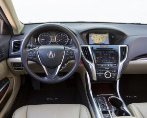 2015 Acura TLX Interior View