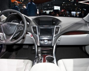 2015 Acura TLX Interior and Dashboard