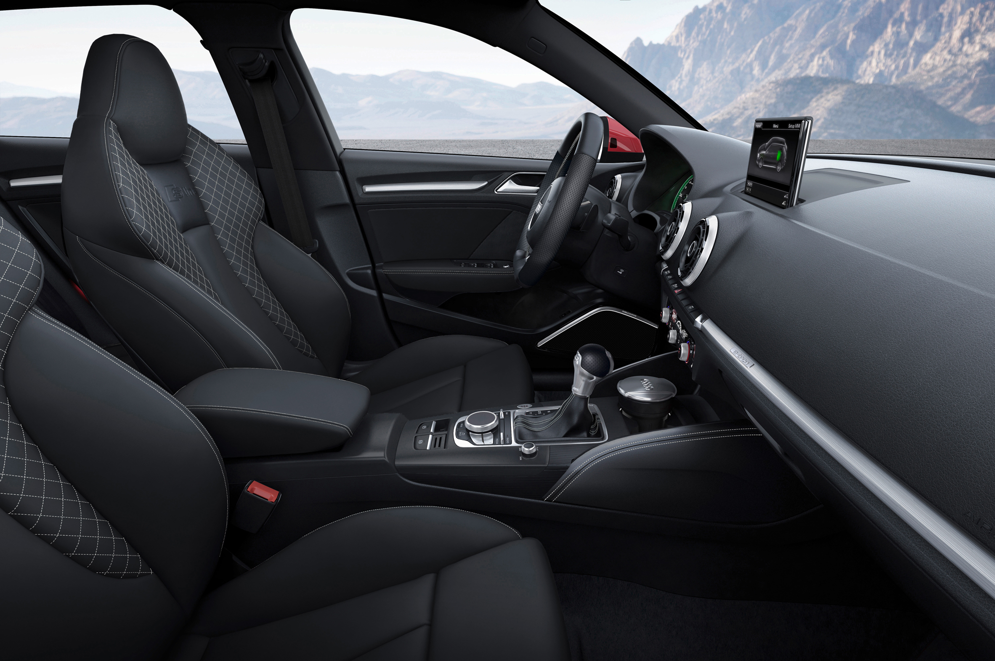 2015 Audi A3 Front Seat And Interior View 310 Cars Performance