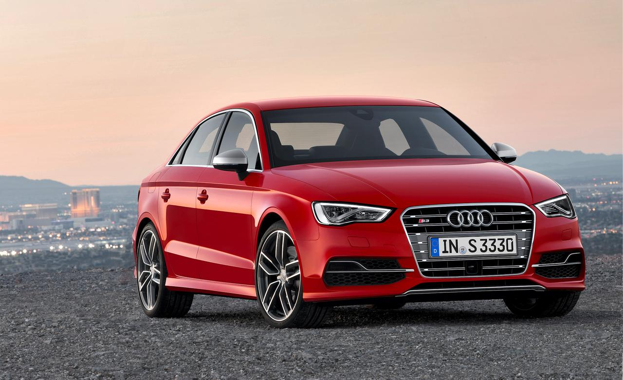New audi a3 sedan details hd - 2015 Audi A3 Red Front View