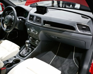 2015 Audi Q3 Front Interior and Dash