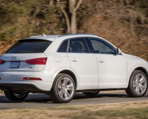 2015 Audi Q3 Rear Side View