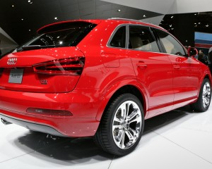 2015 Audi Q3 Red Rear View