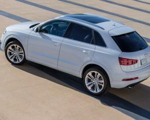2015 Audi Q3 Test Drive View