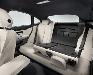 2015 BMW 4 Series Gran Coupe Interior Rear Seats