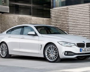 2015 BMW 4 Series Gran Coupe Side Front