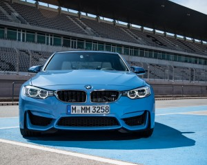 2015 BMW M3 Exterior Front