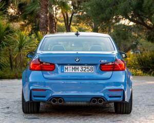 2015 BMW M3 Exterior Rear