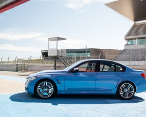 2015 BMW M3 Exterior Side