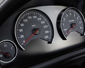 2015 BMW M3 Interior Speedometer
