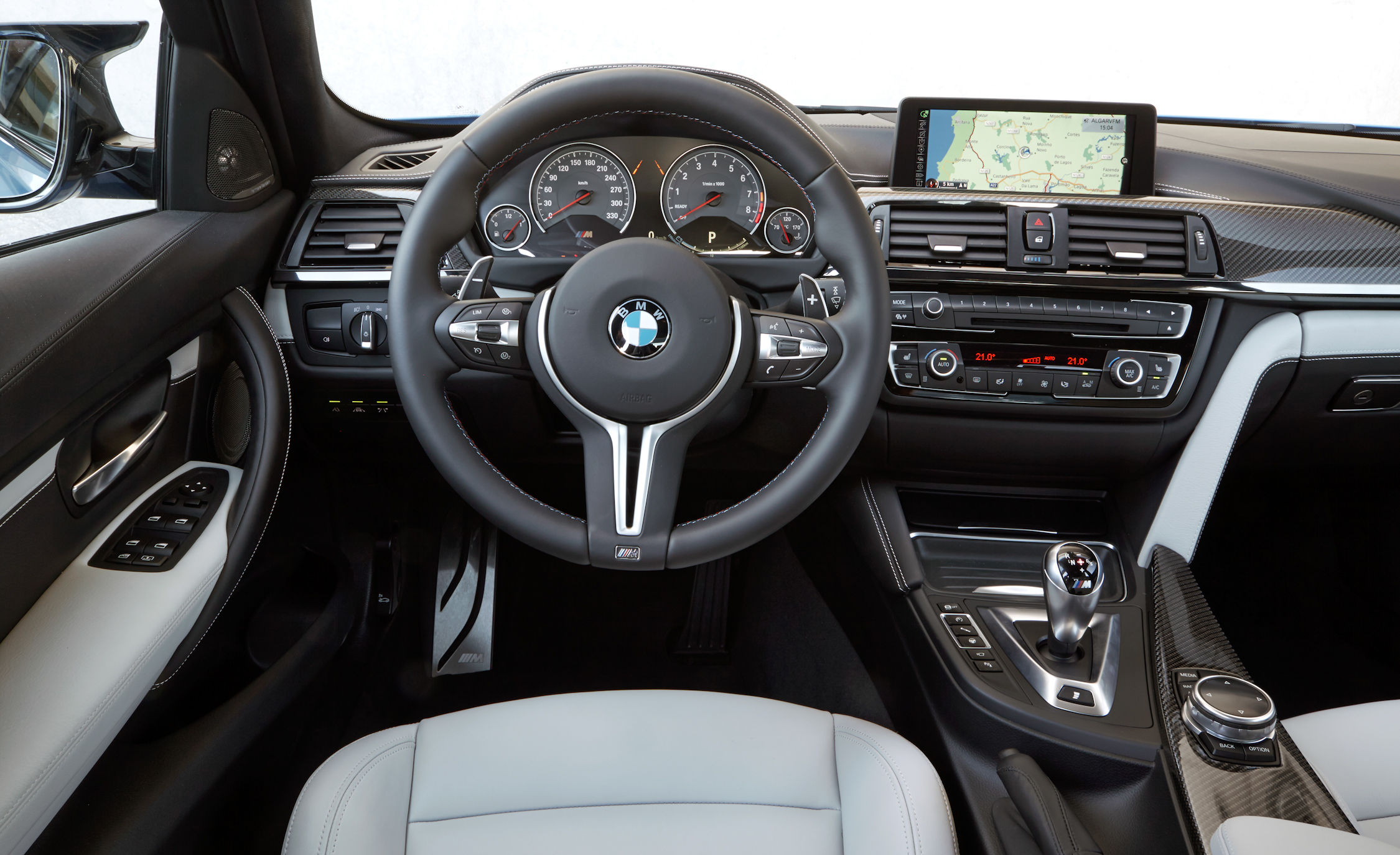 2015 BMW M3 Interior Steering