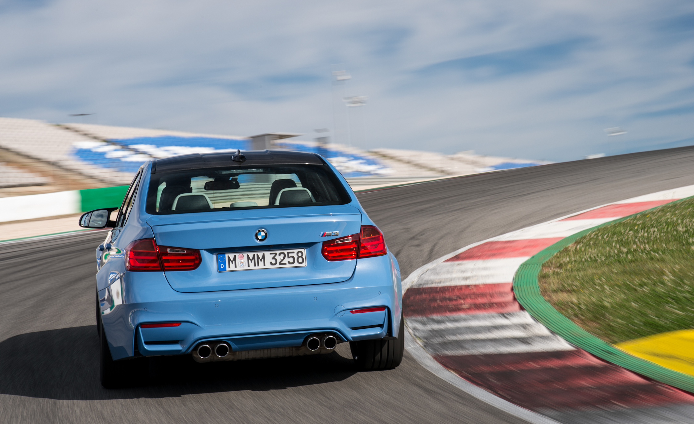 2015 BMW M3 Performance Rear View