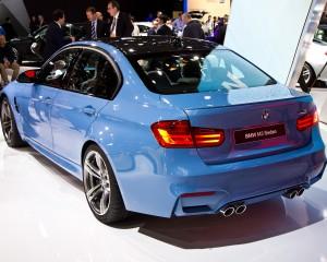 2015 BMW M3 Rear Side View
