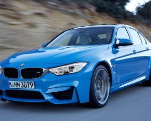 2015 BMW M3 Road View