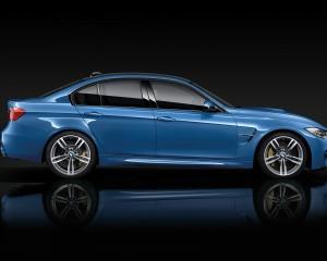 2015 BMW M3 Side View
