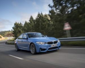 2015 BMW M3 Test Drive View