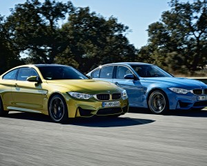 2015 BMW M3 and BMW M4 on Road