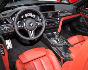 2015 BMW M4 Convertible Dashboard and Cockpit
