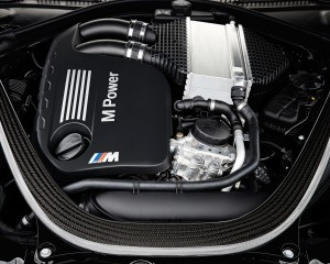 2015 BMW M4 Convertible Engine View