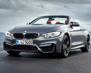 2015 BMW M4 Convertible Front Side Photo