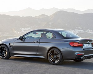2015 BMW M4 Convertible Top-Up Rear Rear Side