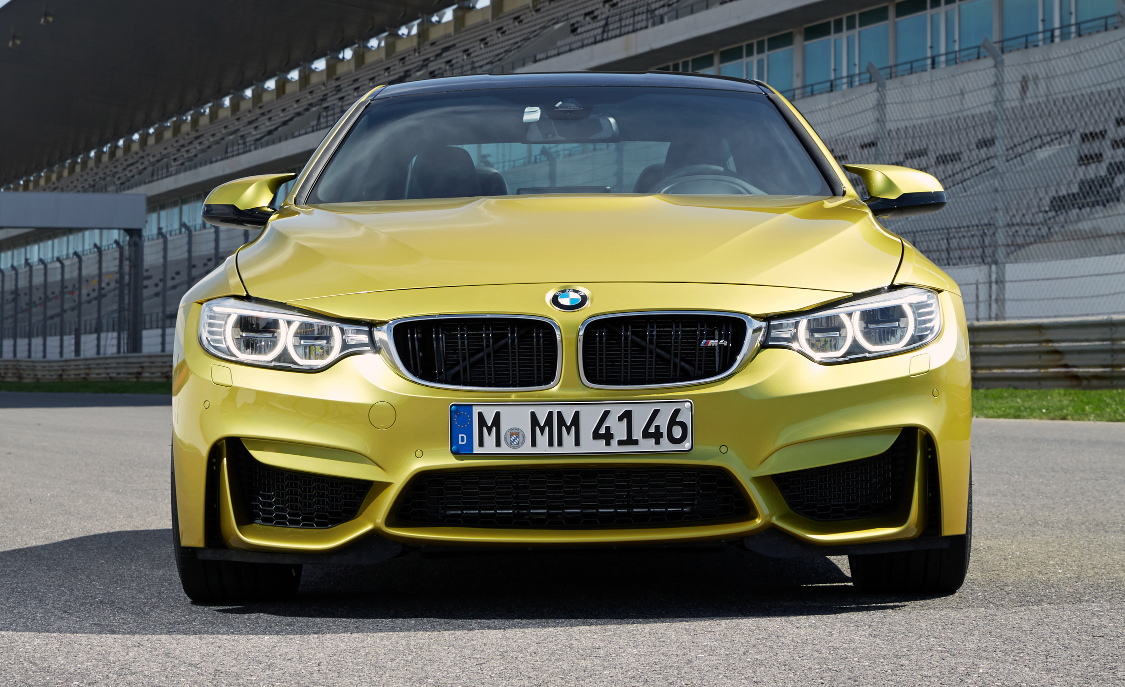 2015 BMW M4 Coupe Exterior Front End