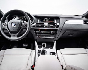 2015 BMW X4 Dashboard and Cockpit