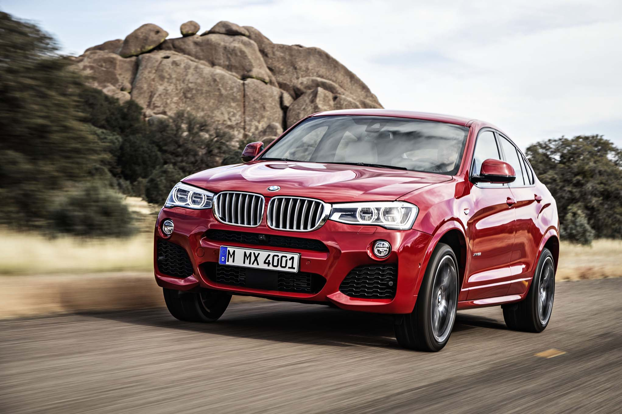 2015 BMW X4 Exterior View