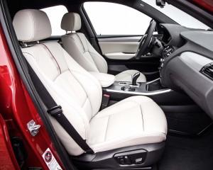2015 BMW X4 Front Seats Interior