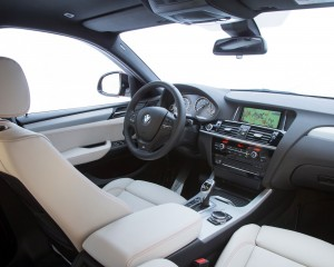 2015 BMW X4 Front Side and Dash