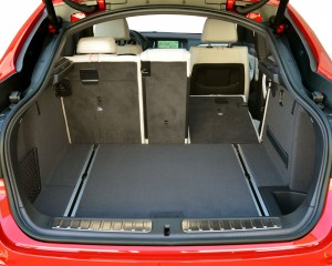 2015 BMW X4 Interior Rear Right Seat Folded