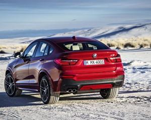 2015 BMW X4 Rear Design