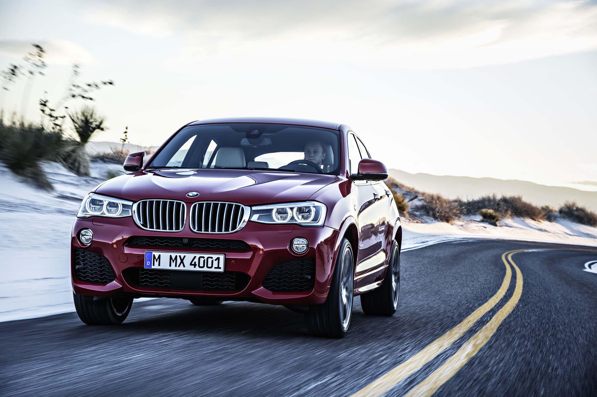 2015 BMW X4 Road Performance