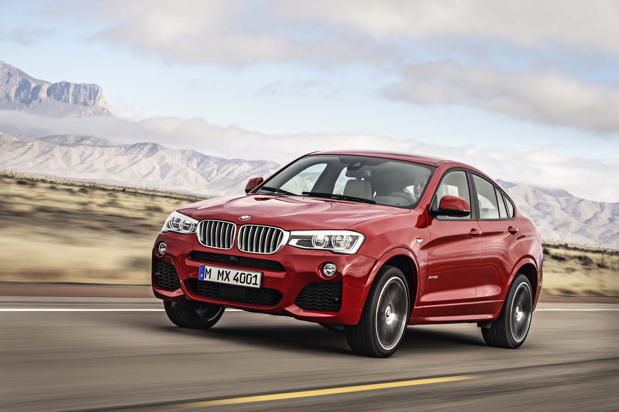 2015 BMW X4 Test Ride