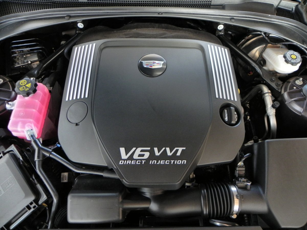 2015 Cadillac ATS Coupe Engine