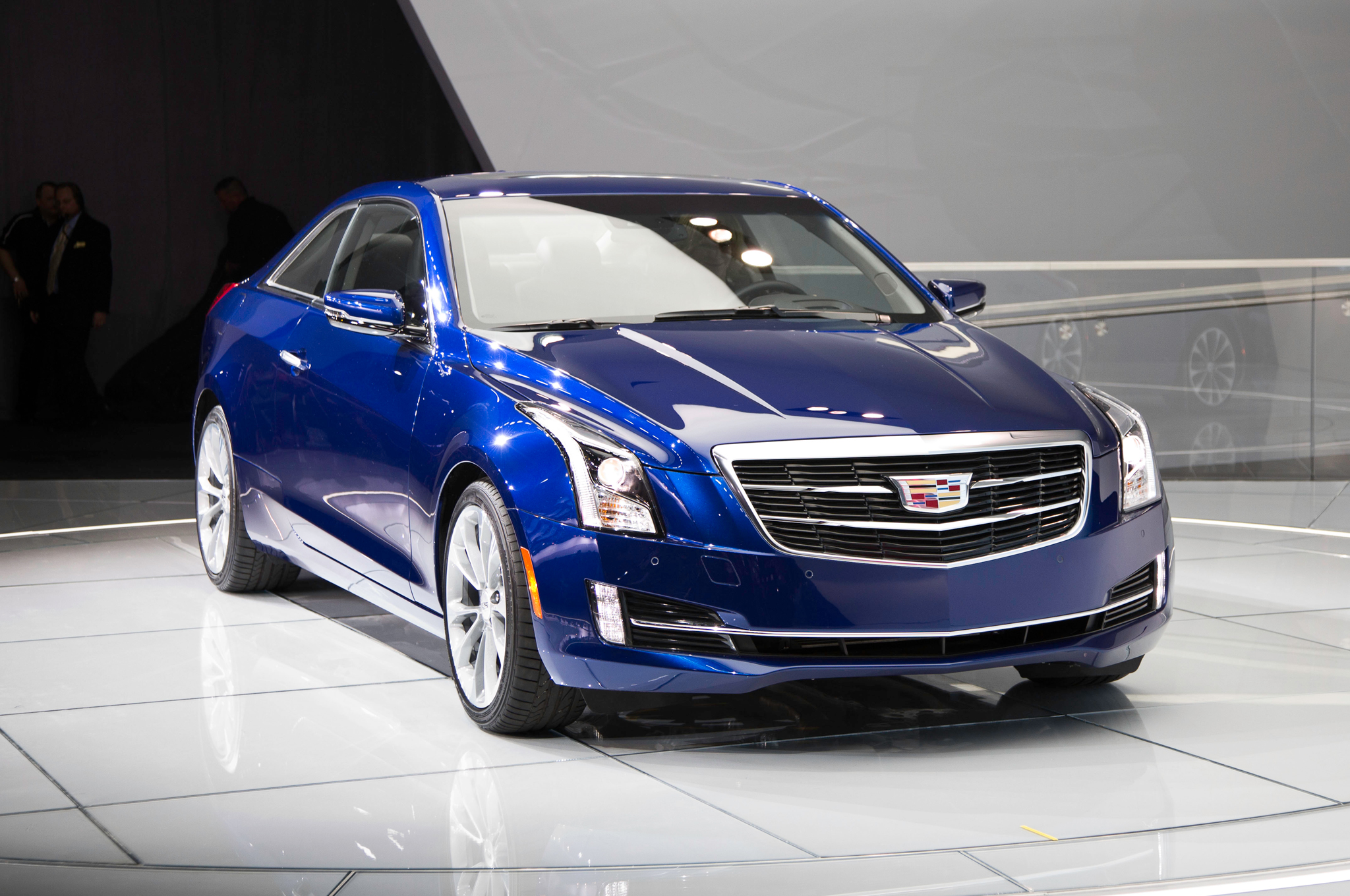 2015 Cadillac ATS Coupe Front Close-Up