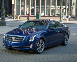 2015 Cadillac ATS Coupe Front Exterior View