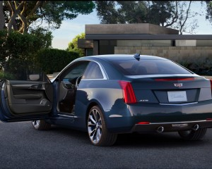 2015 Cadillac ATS Coupe Rear Side Exterior