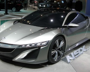 New 2015 Acura NSX Concept