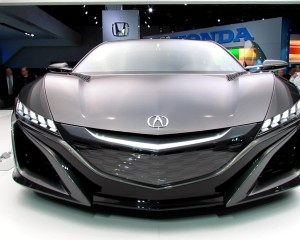 New 2015 Acura NSX Front View