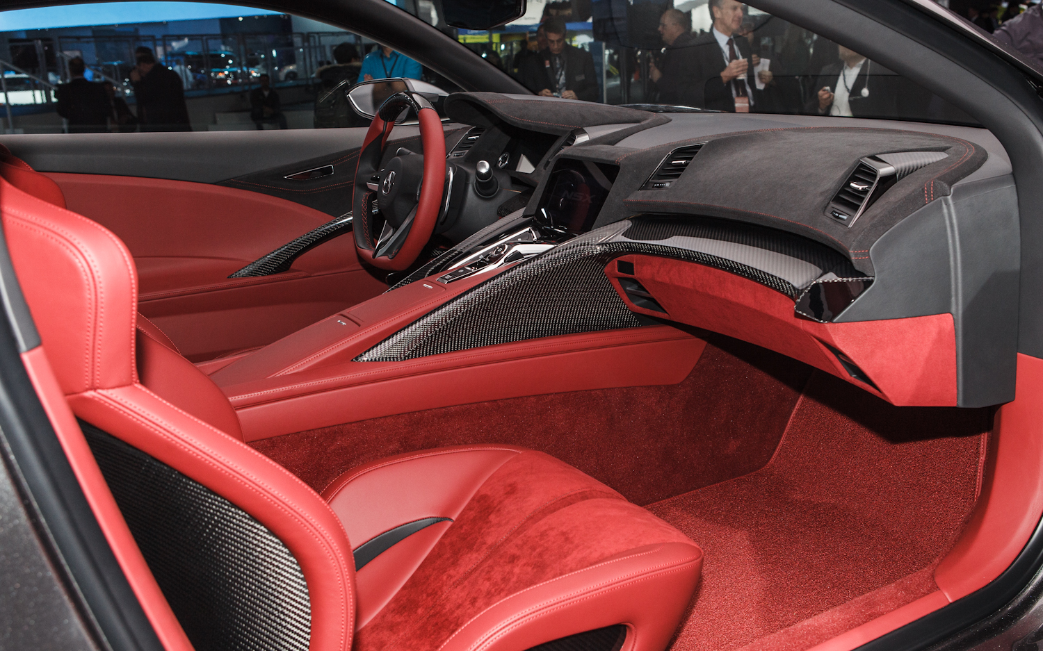 New 2015 Acura NSX Interior Concept