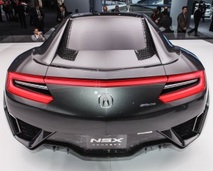 New 2015 Acura NSX Rear Lamp View
