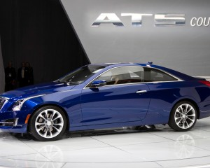 New 2015 Cadillac ATS Coupe Blue