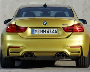 Rear Exterior BMW M4 Coupe 2015