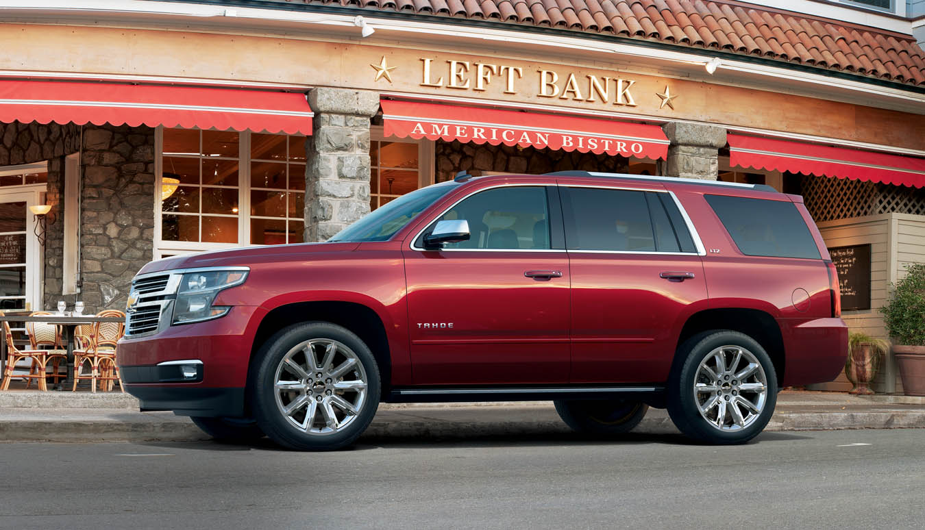 2015 Chevrolet Tahoe Exterior Overview